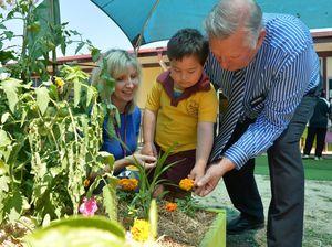 Sensory garden at Sarina State School