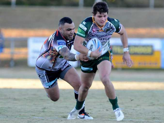 DAUNTING DECISION: Carlin Anderson faces the biggest decision of his fledgling footy career as he chooses an NRL club to sign with.