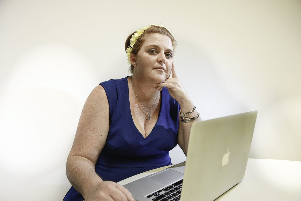 Emma has a campaign for a world free of cyberbullying after her plus-size online fashion business was shut down by abuse on Facebook.