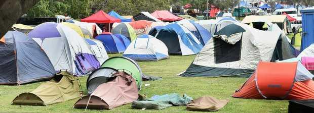Maryborough Technology Challenge - tent city.