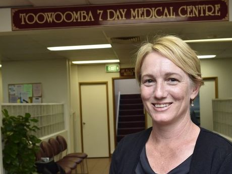 Toowoomba 7 Day Medical Centre director Annie Sendall.