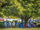 The Commitment to Peace event held at Anzac Park, Gladstone. Photo Luka Kauzlaric / The Observer
