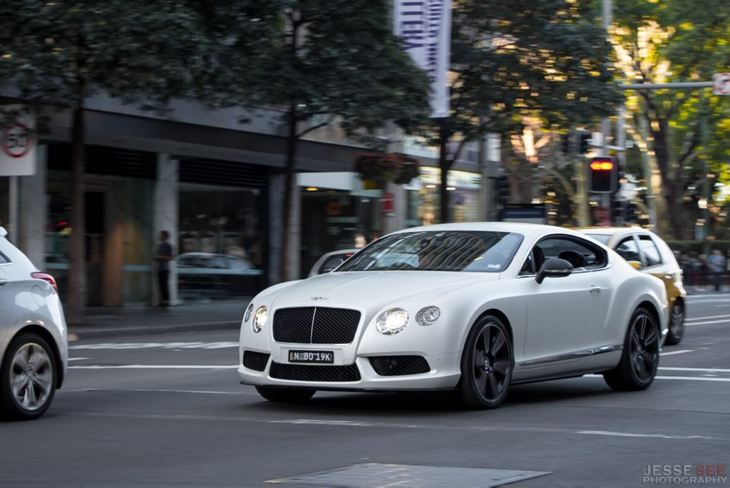 The 2014 Bentley Continental GT V8.