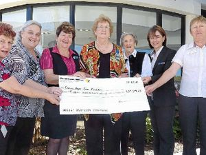 Building sale lets Casino CWA hand out $30,000 to community