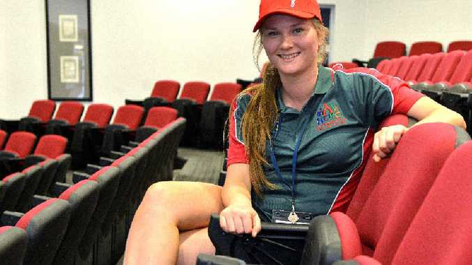 LOOKING FORWARD: After relaxing at school camp, Shannon Alexander is excited about the future as are many Year 12 graduates in Mackay.