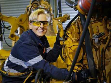 Gemma Hartwig, Queensland's School-based Apprentice of the Year.