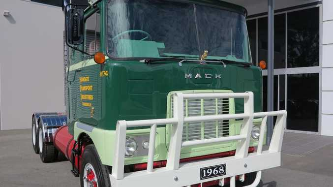 One of the trucks booked in to be at the Mighty Mack Muster at Gatton.