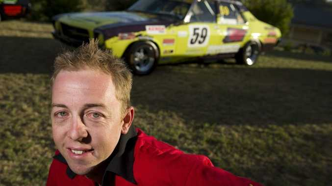 Warwick's Jamie Furness will be one of the drivers to watch for the HQ Holden Nationals this weekend.