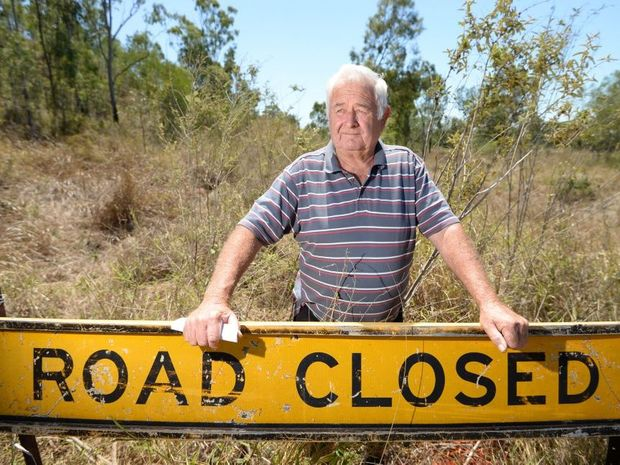 Clem Clarke has been locked in a legal dispute with the Rockhampton Regional Council regarding road access to properties . Photo: Chris Ison / The Morning Bulletin