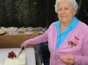 Society's patron celebrates 90 years