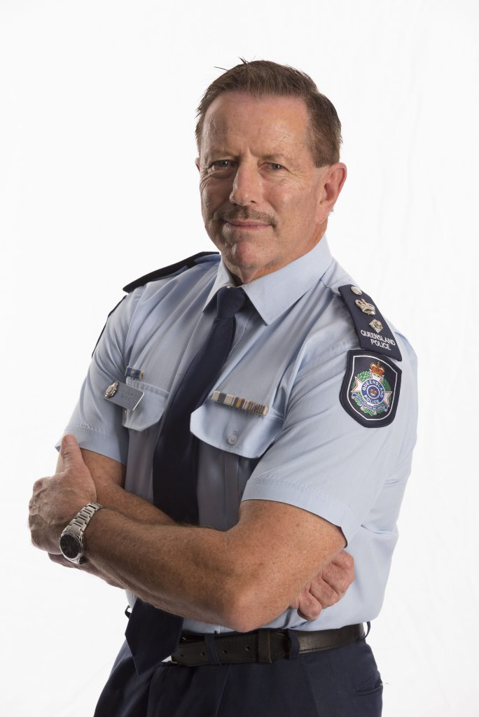 Gold Coast Police Superintendent Jim Keogh.