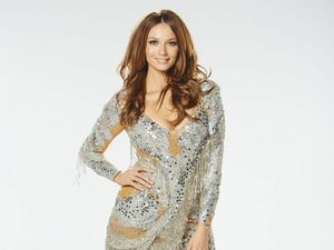 Ricki-Lee Coulter battles through injury for Dancing debut