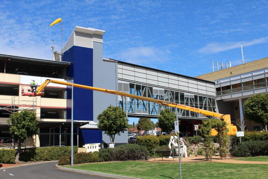 Toowoomba Hospital will undergo a $2.2 million maintenance program.