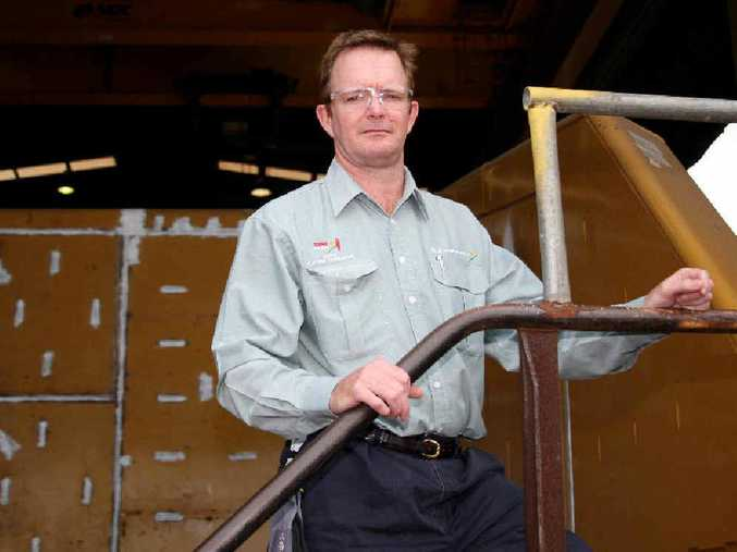 TOUGH TIMES: Mick Crowe has stayed positive about the turbulent times affecting Mackay's businesses associated with the mining sector and to retain his G&S; employees.