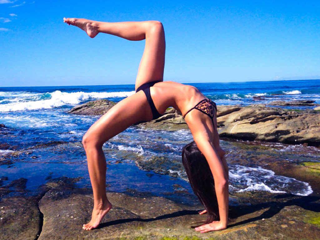FIT AND HEALTHY: Born-and-raised Mackay girl Rachael Attard has a worldwide social media following.