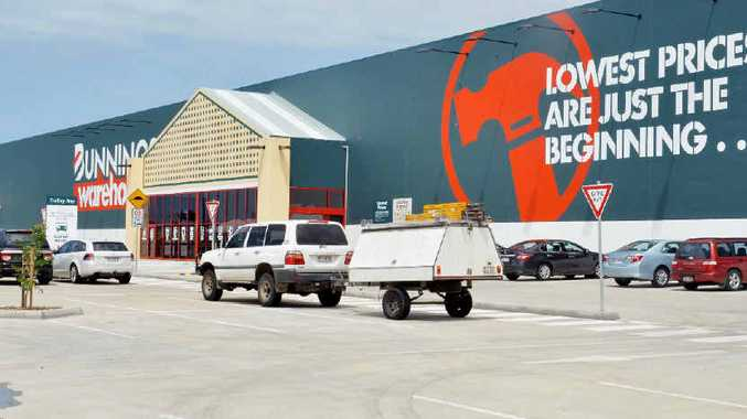 NEW STORE: The Bunnings warehouse at Paget stands out from its position in Archibald St.