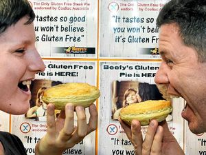 Beefy's son finally gets a pie to sink his teeth into