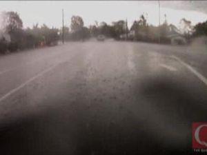 Rainy drive around Ipswich