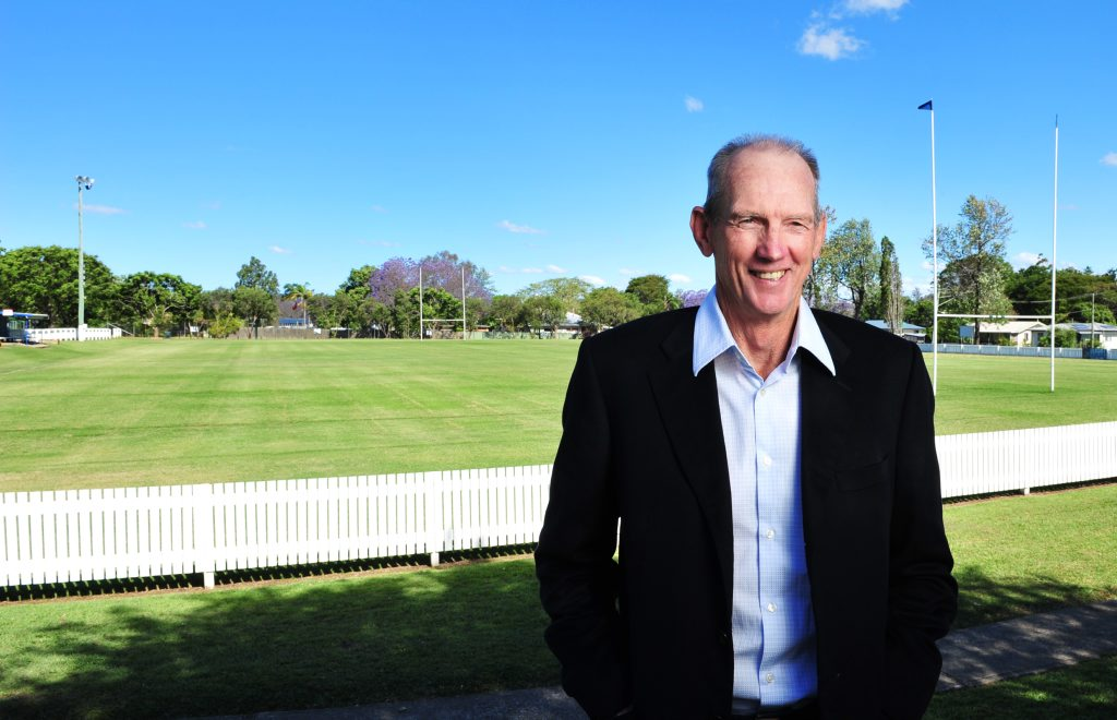 MASTER COACH: Wayne Bennett started his coaching career in Ipswich.