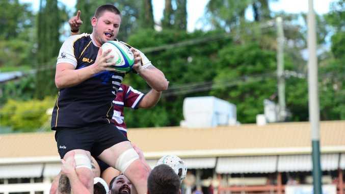 Clinton Fullager. CQ Brahmans Rugby Union. Photo Sharyn O'Neill / The Morning Bulletin
