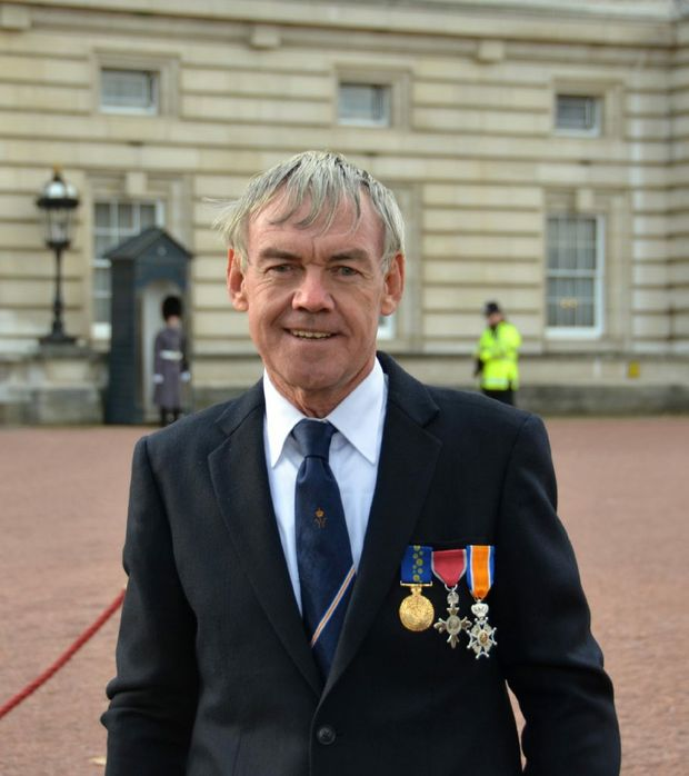Mr Rod Beattie at Buckingham Palace