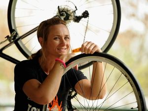 Mum takes on cycling challenge for kids' cancer research