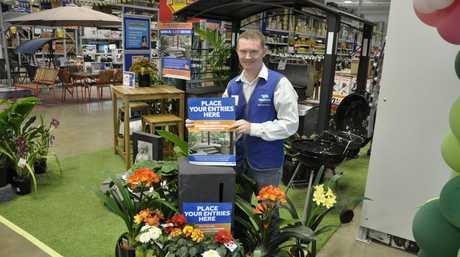 Masters Toowoomba store manager Justin Lansom.