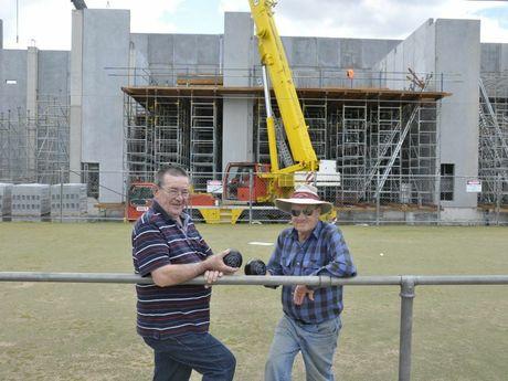 Toowoomba City Bowls Club board members Kerry Gleeson, Bob Kroh. Photo Nick Houghton / The Chronicle