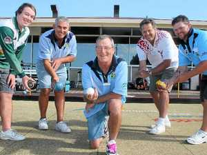 Greenkeepers challenge bowlers at Ballina RSL Bowling Club