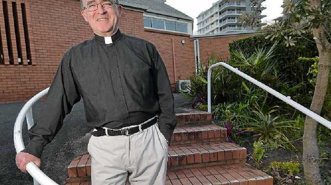 TRUE BLUE QUEENSLANDER: Craig Moody is the new parish priest at St Andrew's Anglican Church in Caloundra.