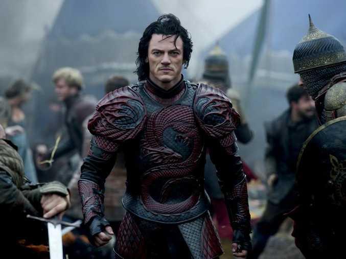 Luke Evans as Vlad the Impaler in Dracula Untold.