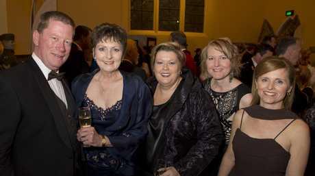 Kelvin Hutchinson, Denis Quinn, Helen Jentz, Lisa King and Tracey Kessels.