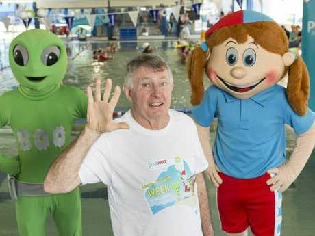 Laurie Lawrence is promoting Learn To Swim Week.