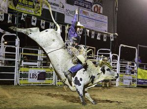Ricky Noy provides the joy at Calliope Rodeo