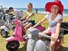 Old scooter fans take part in rebirth rev-up