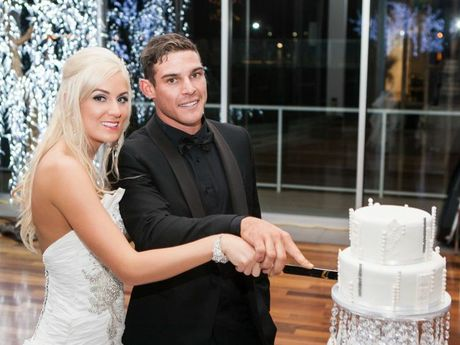 Hayley and Matt Martin married last September with their big day costing about $56,300. Hayley and Matt loved their wedding but are still recovering financially.