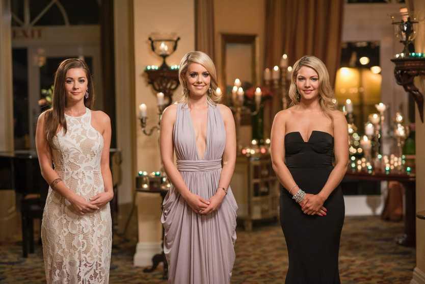 Blake's final three: Lisa Hyde, Louise Pillidge and Sam Frost.