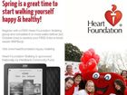 The Heart Foundation is hoping to recruit 3000 new walkers during spring.