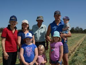 Sisters take stock of life on the farm