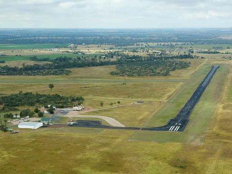 The Chinchilla airport.