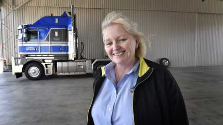 Heavy Haulage Australia national projects manager Tracie Kachel.