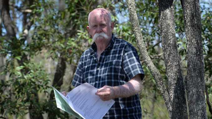NATURE CONSERVATION ACT: Colin Candy has had his kangaroos removed from his Apple Tree Creek property. Photo: Mike Knott / NewsMail