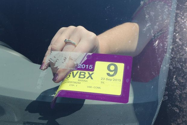 Parkinson's Queensland is encouraging car owners to shed their registration stickers for a good cause this month. Photo Tom Threadingham / Gatton Star
