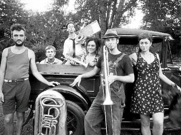 THE TRUCK STOPS HERE: Tuba Skinny keepin' it New Orleans-style.