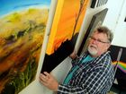 Chris Foley is having his first art exhibition titled Colour Me Crazy at the Maryborough Art Gallery.