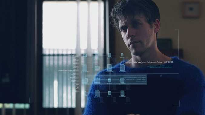 Ashley Zukerman plays hacker Jesse in the ABC's political thriller series The Code.