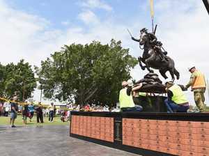 Light Horse Statue