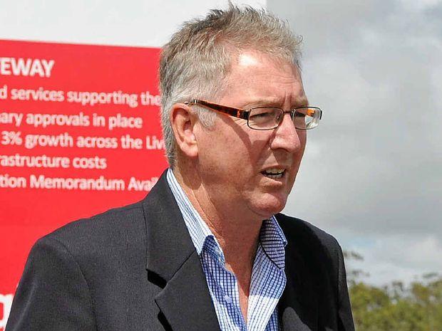Livingstone Deputy Mayor Graham Scott says the precinct will open opportunities for businesses in the region.