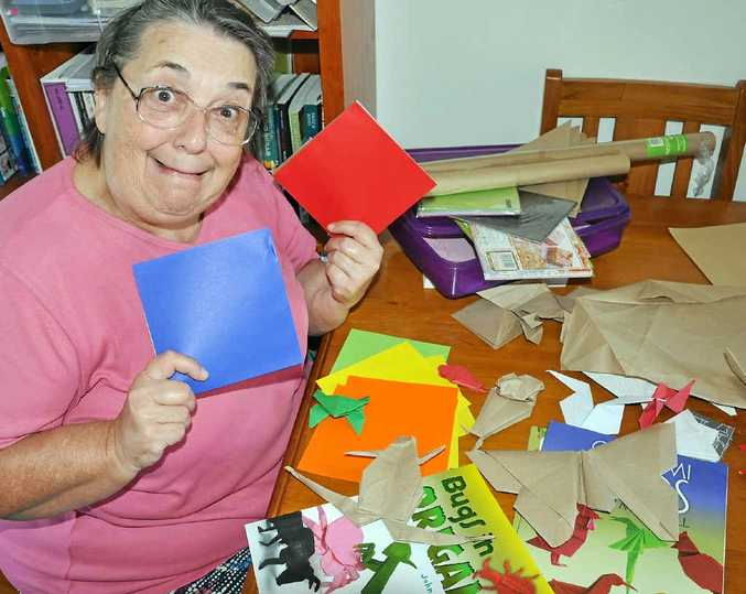 PLEASE APPLY: Rosemary Jewell would be grateful for any experienced origami folders to contact her.