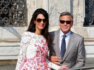 George Clooney is celebrating Christmas in Mexico